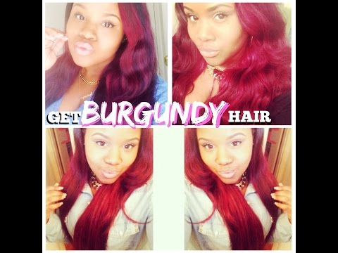 How To: Dye Your Hair Burgundy/Red (HIGHLY REQUESTED)