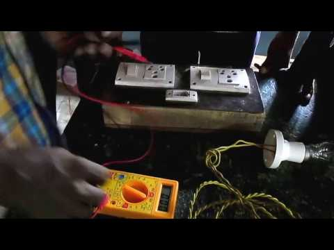 Testing an Inverter battery with a Multimeter  - Tutorial in Tamil