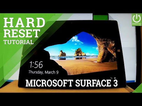 MICROSOFT Surface 3 Hard Reset / Remove Password / Format Windows