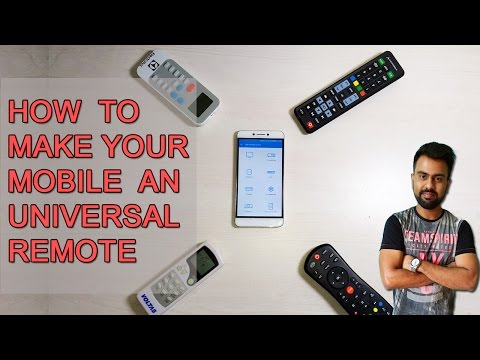 How to Make Your Mobile an Universal Remote [Hindi]