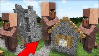 ЭТО НАСТОЯЩАЯ ДЕРЕВНЯ ЖИТЕЛЕЙ ГИГАНТОВ В МАЙНКРАФТ 100% ТРОЛЛИНГ ЛОВУШКА Minecraft МУЛЬТИК В МАЙНЕ
