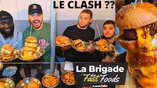 La BRIGADE des FAST FOODS VS le + GROS MANGEUR - VLOG #943