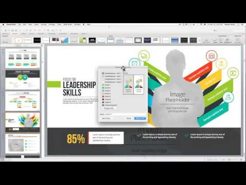 How to change powerpoint presentation theme color in powerpoint HD trailer tutorial movie
