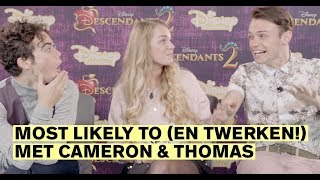 Thomas Doherty & Cameron Boyce: Most Likely To tag | CosmoGIRL!