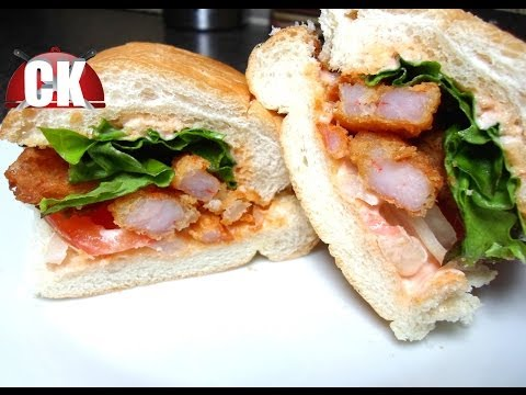 How to make a Shrimp Po-Boy - Easy Cooking!