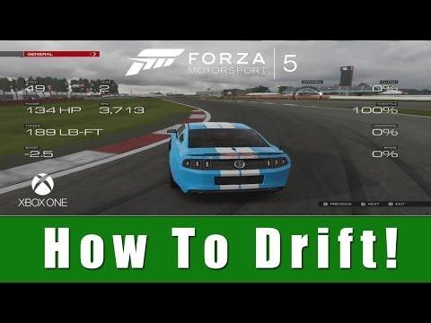 Forza Motorsport 5 - How to Drift (Tutorial)