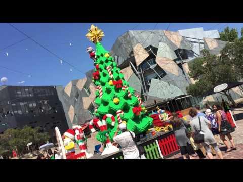 LEGO Christmas tree Melbourne Australia