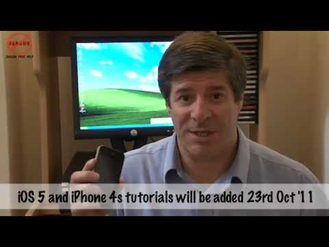 iOS 5 Getting Started, the iPhone 4s and Siri