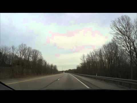 USA Driving- Pennsylvania - Cleveland Ohio to New York City Photo Timelapse - GoPro HERO4 Black ed.