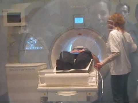 how an MRI (MRT) scan is performed