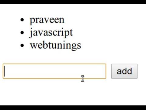AngularJS Tutorial - simple application