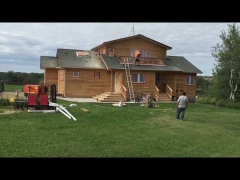 Cedar Siding and Deck Restoration Part 3