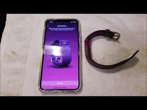 How to Pair Fitbit to iPhone XS Max - Connect Old Fit Bit to New Phone