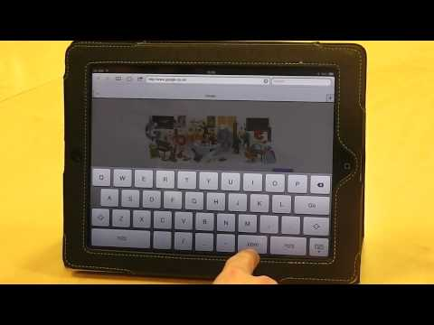 Learn keyboard shortcuts for iPad