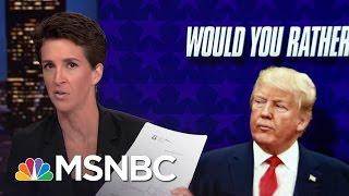 Trump African-American Numbers Abysmal: Poll | Rachel Maddow | MSNBC
