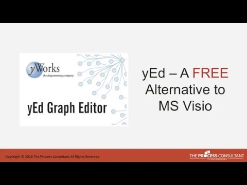 Process mapping with yEd   Free visio alternative
