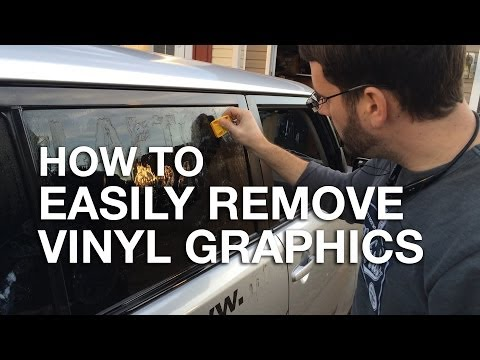 How To Easily Remove Vinyl Graphics and Stickers from your Car or Truck