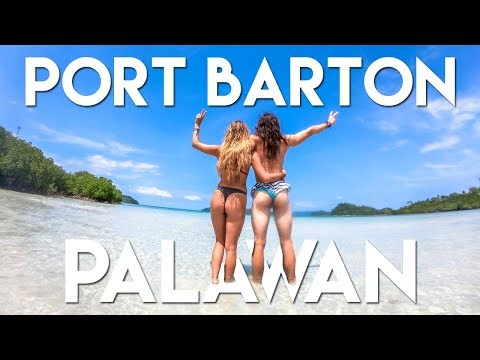 PORT BARTON Booty Tour... I mean BOAT TOUR - Philippines Travel Vlog Ep 8 - Palawan Island Hopping