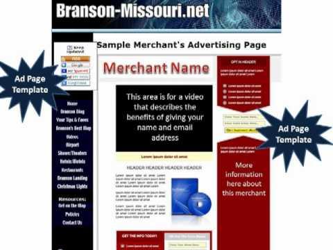 Branson Missouri Net Map Options Presentation