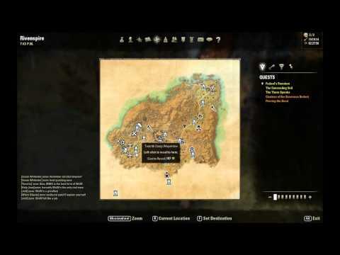 ESO: Rivenspire Treasure Map II Location