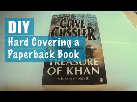 Hard Covering a Paperback Book
