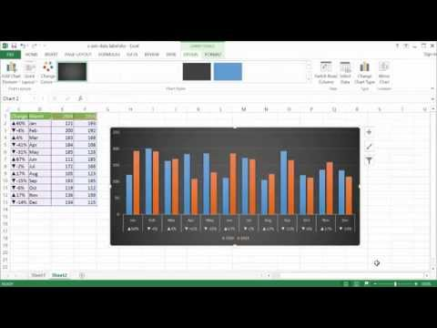 Use a Data Label in the X Axis