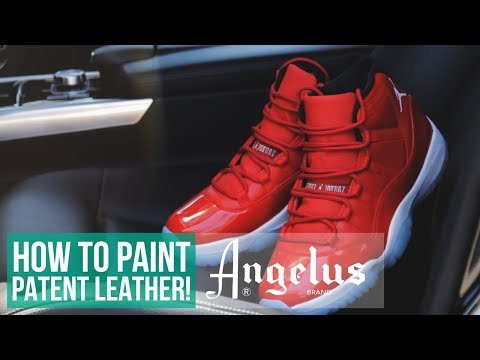 Jordan 11 Custom Patent Leather Walkthrough | Angelus Brand