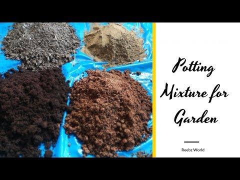 Potting Mixture for Organic Terrace Garden -How to make  potting soil for your organic garden