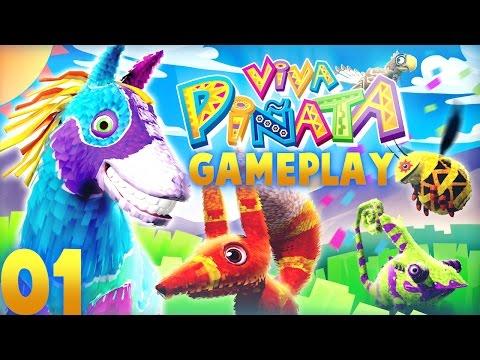A New Start! Viva Pinata: Gameplay - Episode 01