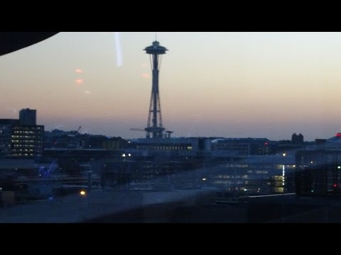 Victoria BC - Seattle for $28 Part 2: Anacortes Ferry Term.-downtown Seattle by transit 2015-10-01