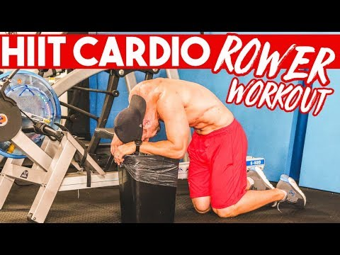 A QUICK Cardio Rower Workout (Lose WEIGHT with HIIT)