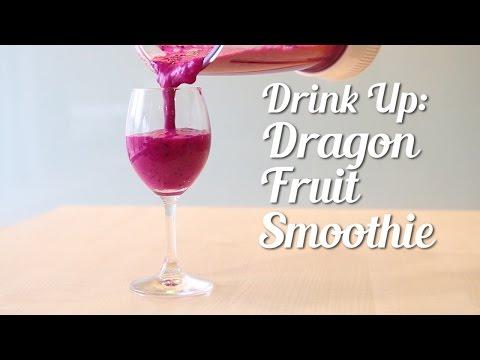 Drink Up: Dragon fruit smoothie