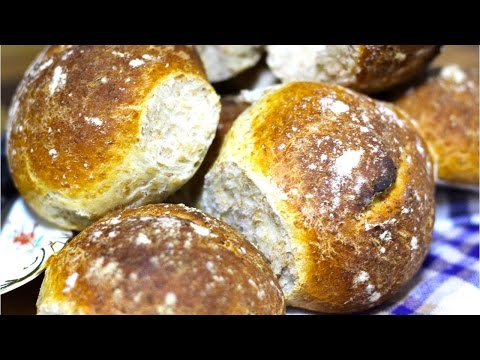 Homemade Easy Bread Rolls Brown Cooking With Benji