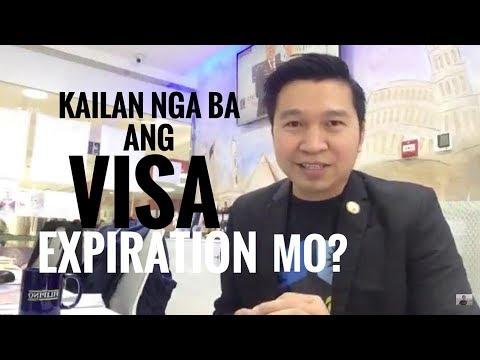 KAILAN NGA BA ANG VISA EXPIRATION MO? (via FB Live!)