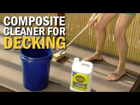 Composite Cleaner for Decks