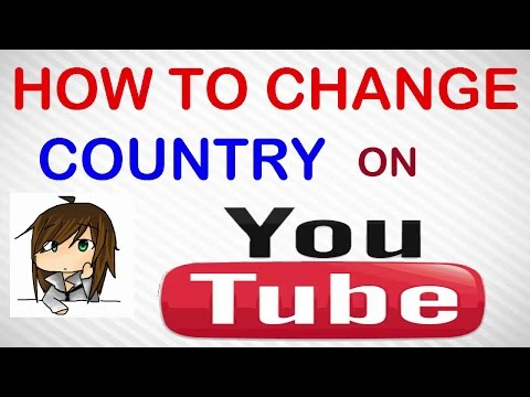How to change country in youtube - 2016: how to change country location in youtube for monetization