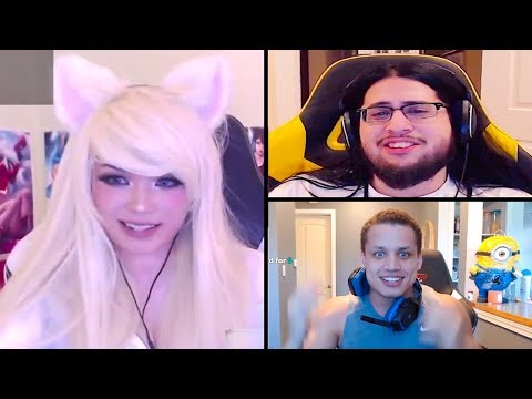 Imaqtpie Plays Fortnite | Tyler1 Tells You How to Get Girls | Tyler1 vs Aphromoo - LoL Moments