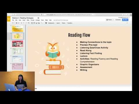 Reading Strategies and Activities for ESL/ELL Classrooms