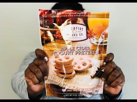 Apple Cider Pretzels??? | Creative Snacks Co. | Snack Alert Review