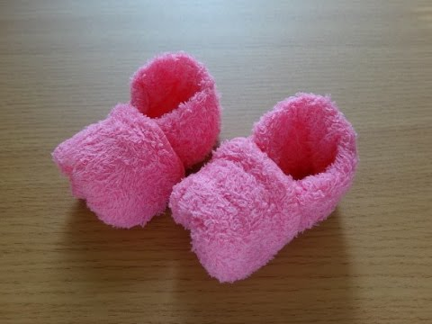 Towel shoes おしぼりでつくるクツ
