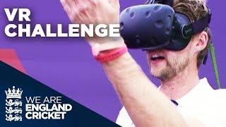 England Players Take on Cricket VR Challenge | Natwest VR Challenge