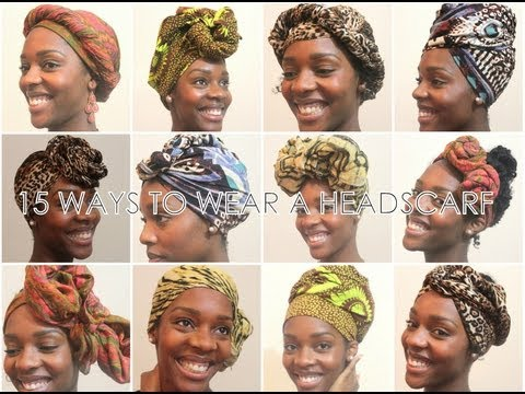 How To: 15 Ways To Wear a Headscarf