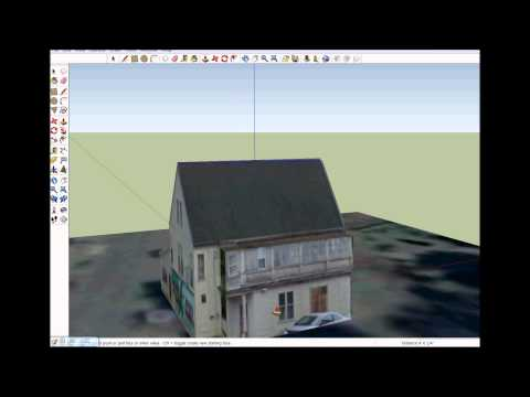 Using Sketchup to make 3D buildings in Google Earth