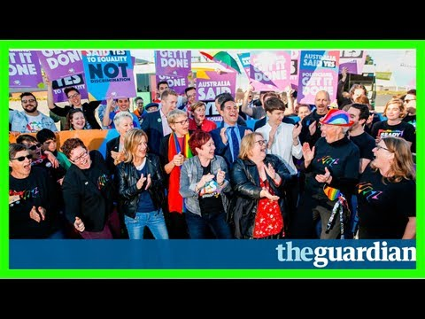 Marriage equality law passes australia's parliament in landslide vote