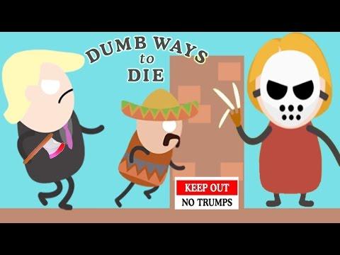 Dumb Ways To Die vs New Dumb Ways To Punch Trump!