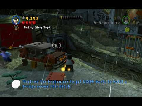 LEGO Harry potter years 5-12 playthrough part 1 damn you dudly