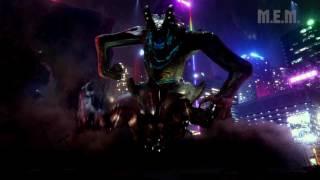 Pacific Rim (2013) - Gipsy  vs Otachi (Acid/Flying Kaiju) - Pure Action [1080p]