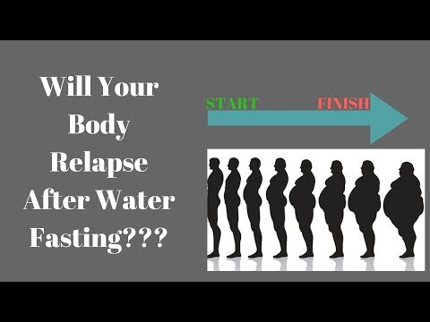 Will You Gain Back The Weight Lost After Water Fasting??? | How To Keep The Weight Off!!!