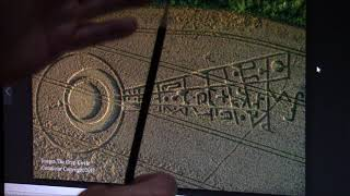 Message in this crop circle Explained