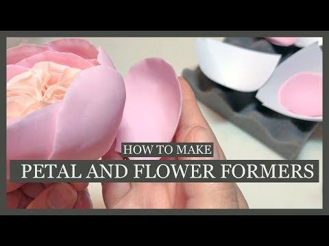 Sugar Petal Former DIY - and Flower Former DIY Tutorial